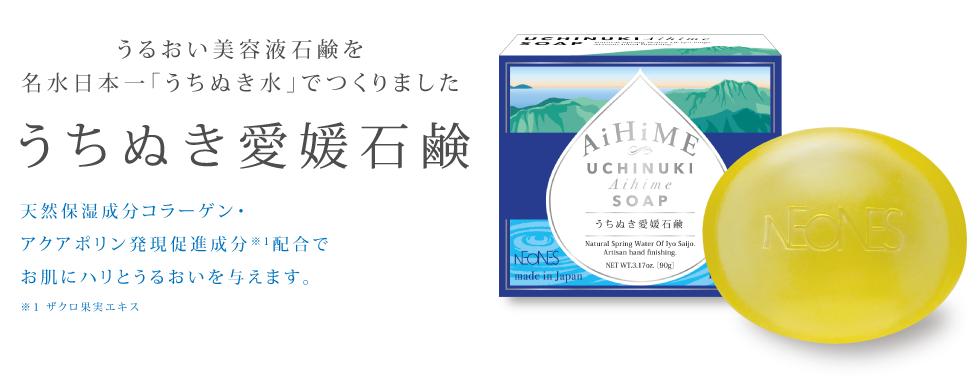 うちぬき愛媛石鹸表紙